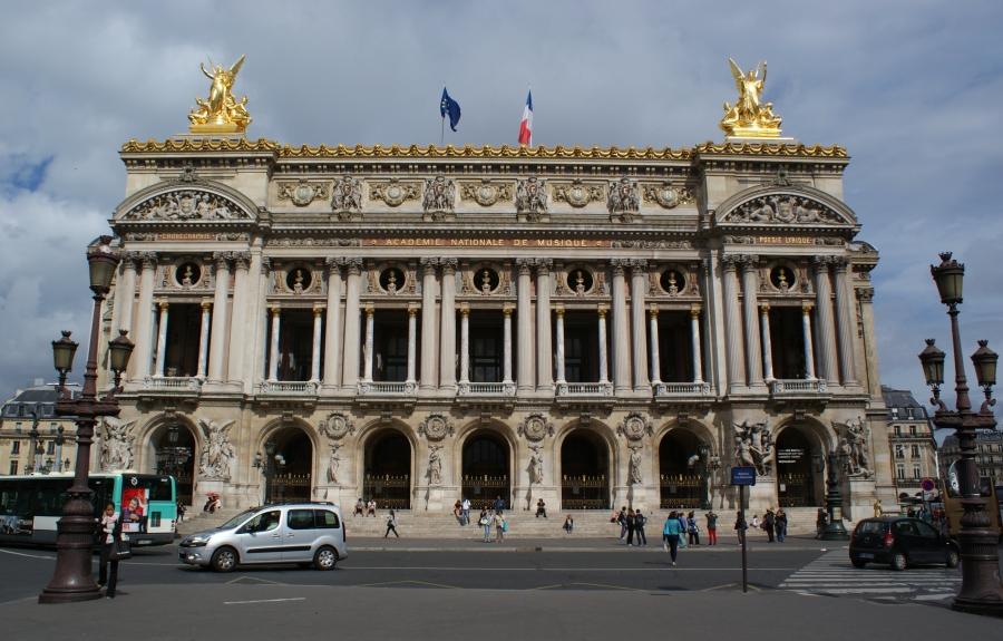 The Palais Garnier or Opéra Garnier, Opera House, Paris