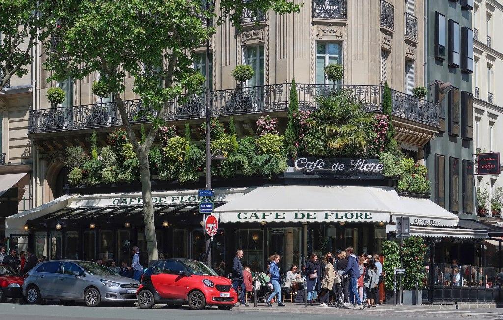 Café de Flore,  172 Boulevard Saint-Germain , Paris