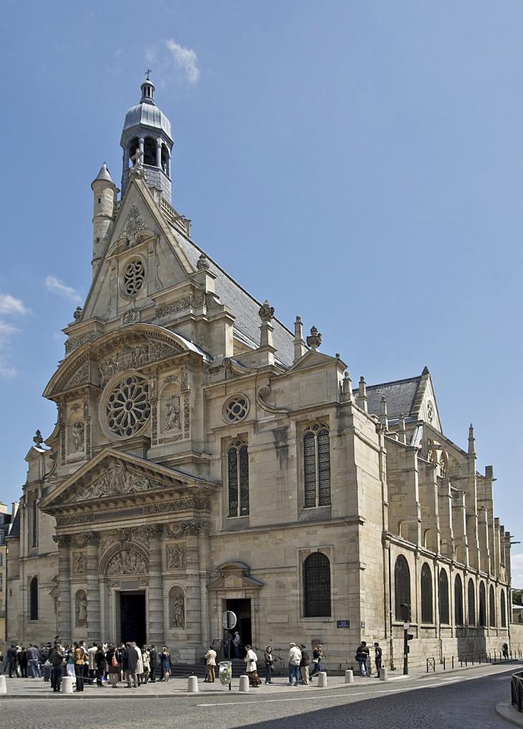 Church of St Etienne du Mont, Paris