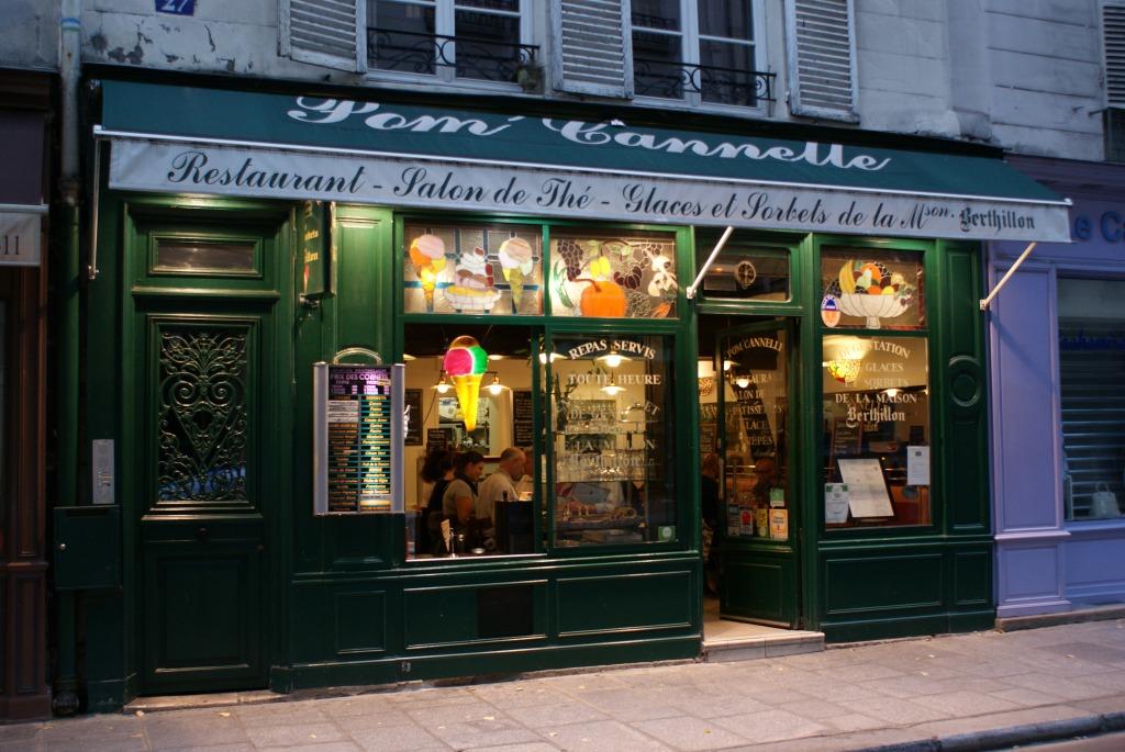 Pom'Cannelle,  27 rue des 2 Ponts Pari,s Restaurant