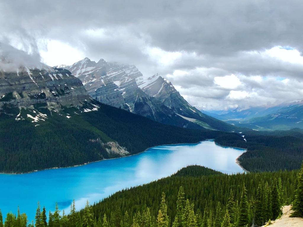 Canadian Rocky Mountans, Peyto Lake, Banff
