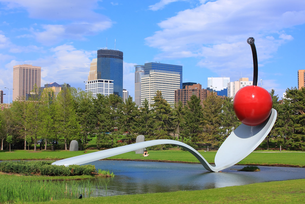 Cherry on the spoon, Minneapolis Scuprture Garden